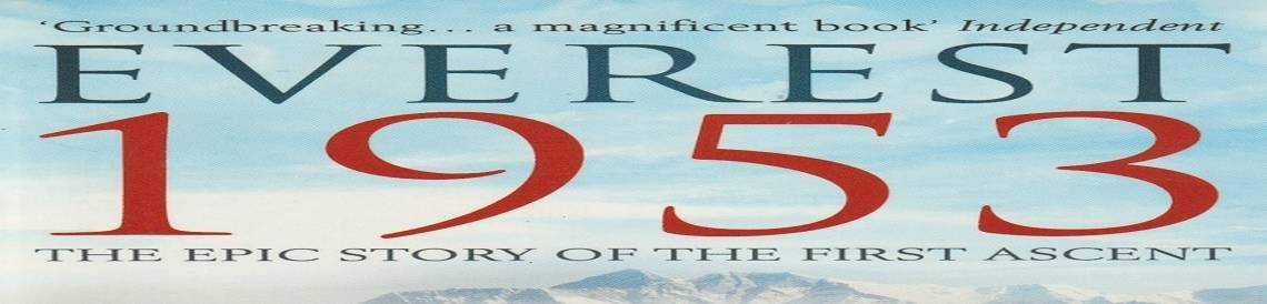 "Book review:  ""Everest 1953"" by Nick Conefrey"