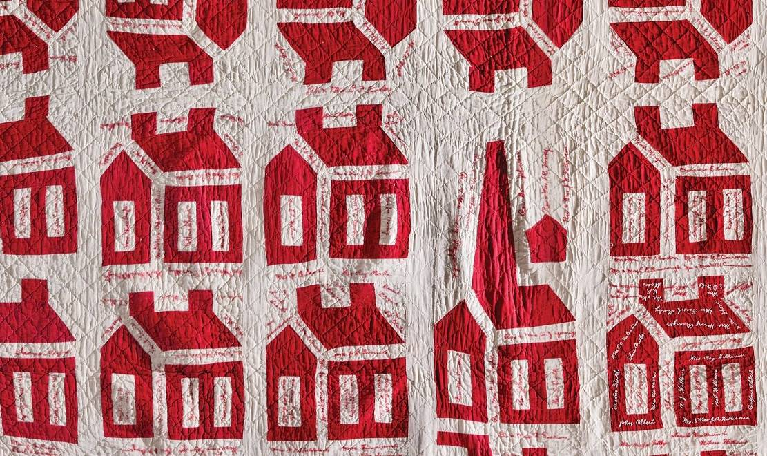 """Book review:  """"Red & White Quilts: Infinite Variety"""" by Elizabeth V. Warren with Maggi Gordon"""