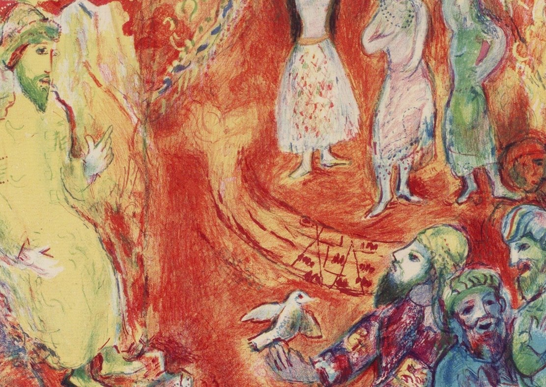 "Book review: ""Arabian Nights: Four Tales from A Thousand and One Nights,"" art by Marc Chagall, text by Richard Francis Burton"