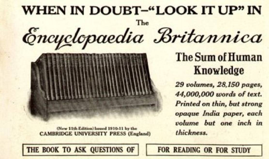 """Book review: """"Everything Explained That Is Explainable: On the Creation of the Encyclopaedia Britannica's Celebrated Eleventh Edition, 1910-1911"""" by Denis Boyles"""