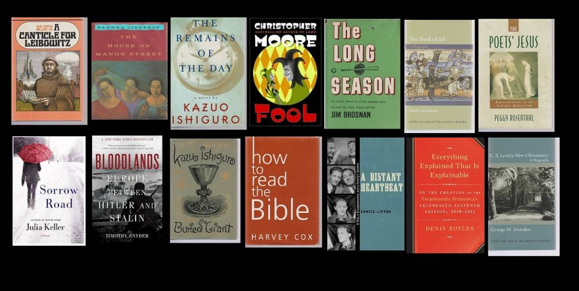 My Top Fourteen Books of 2016