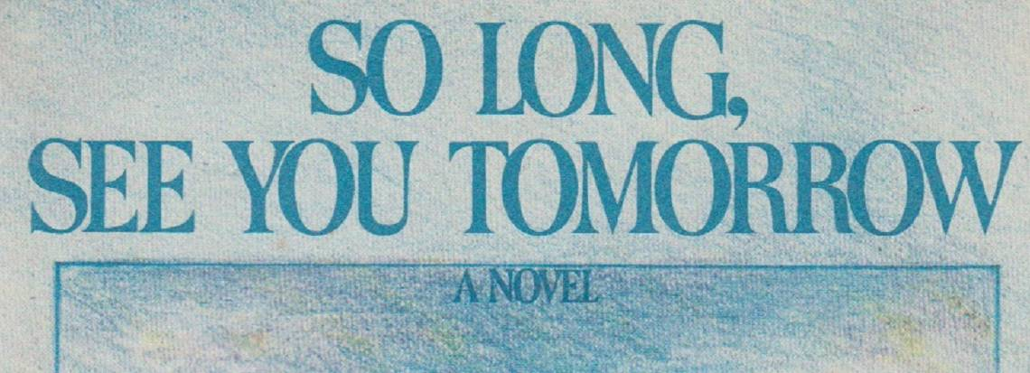 """Book review: """"So Long, See You Tomorrow"""" by William Maxwell"""