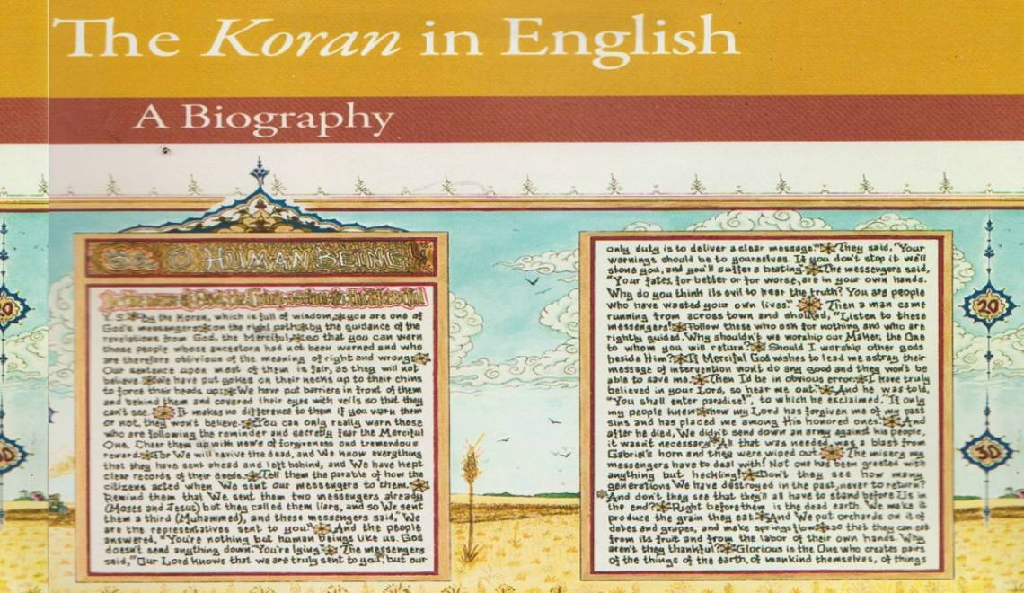 """Book review: """" 'The Koran' in English: A Biography"""" by Bruce B. Lawrence"""
