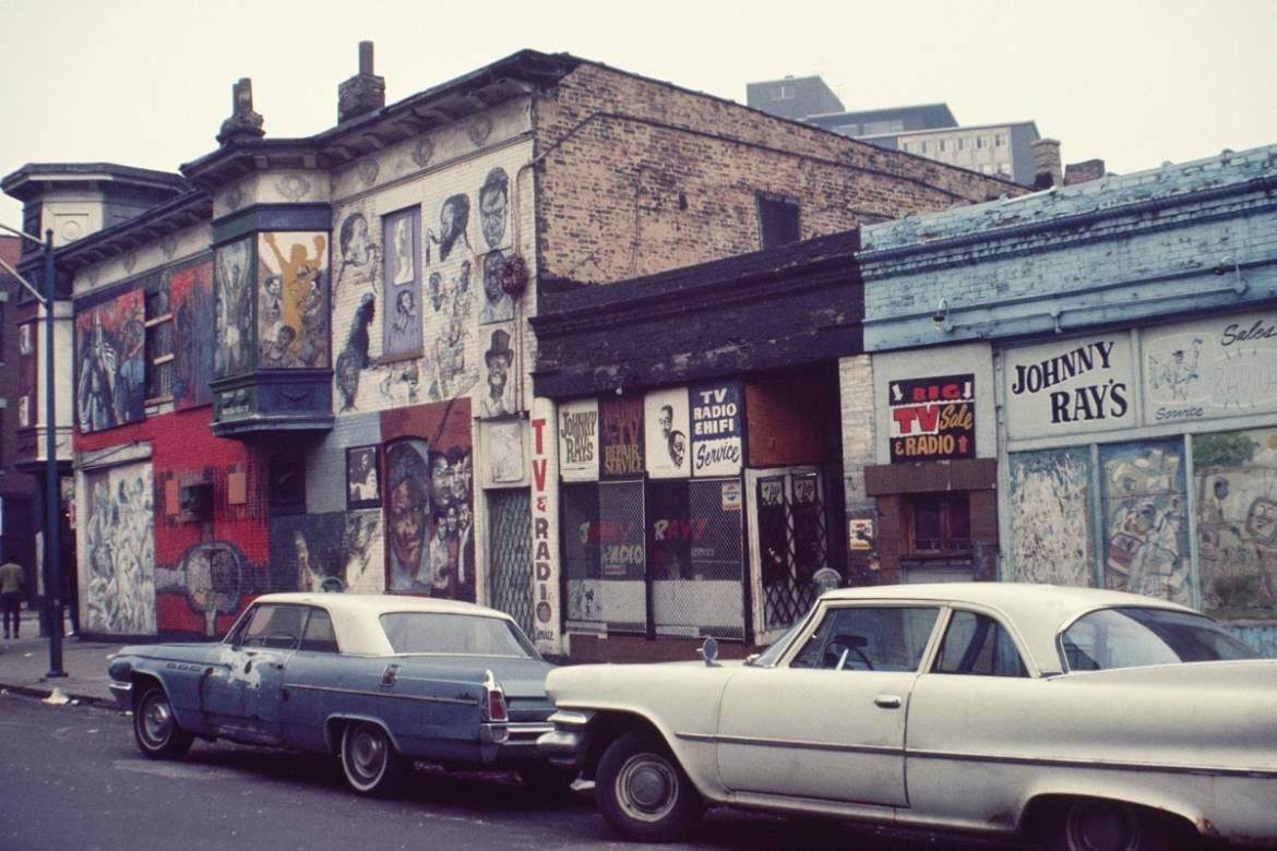 Chicago history:  The Wall of Respect