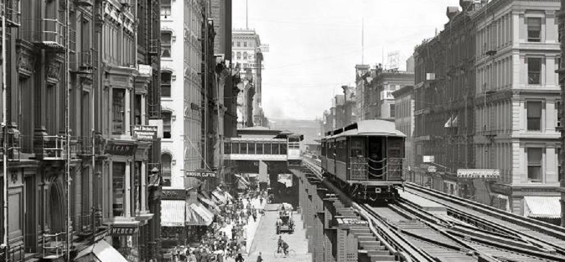 """The Loop: How the """"golden circle"""" of elevated tracks gave shape and power to Chicago's downtown, united Chicagoans and saved the city."""