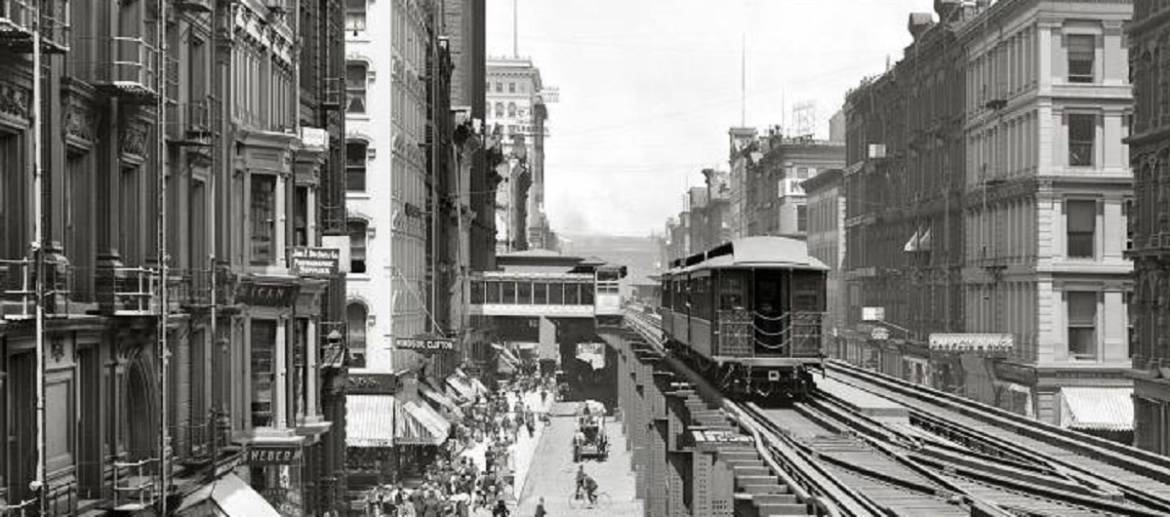 "The Loop: How the ""golden circle"" of elevated tracks gave shape and power to Chicago's downtown, united Chicagoans and saved the city."