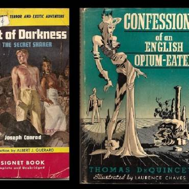 Twenty-two noir or otherwise very odd covers of great works of literature