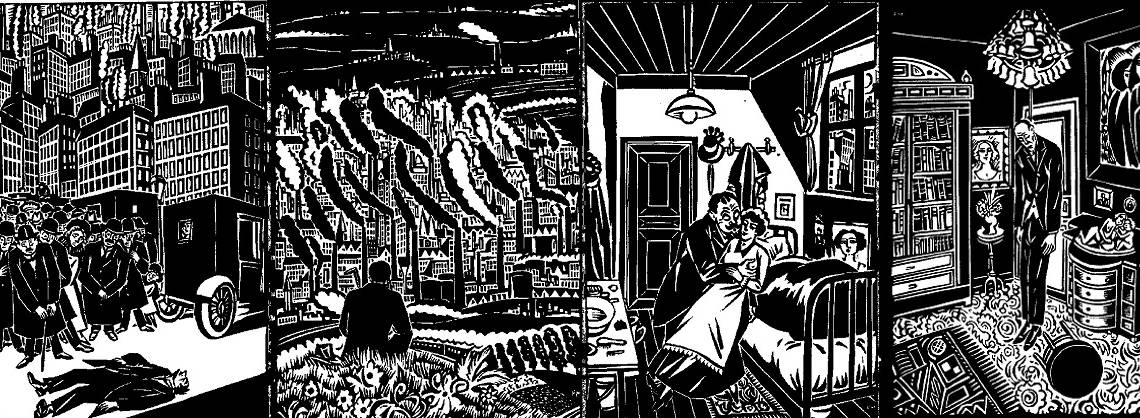 "Book review: ""The City: A Vision in Woodcuts"" by Frans Masereel"
