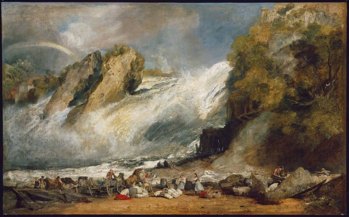 "Poem: ""Standing before Turner's 'Fall of the Rhine at Schaffhausen' in the Boston Museum of Fine Arts"""