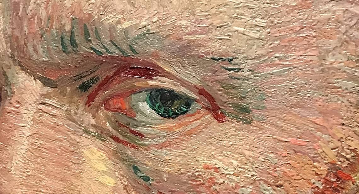 """Essay:  Van Gogh's """"Self-Portrait"""" (1887) at the Art Institute of Chicago"""