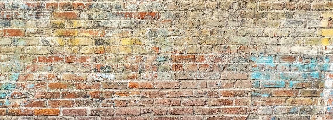 Poem: Brick wall scripture