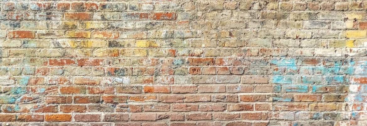 Poem: Brick wall scripture