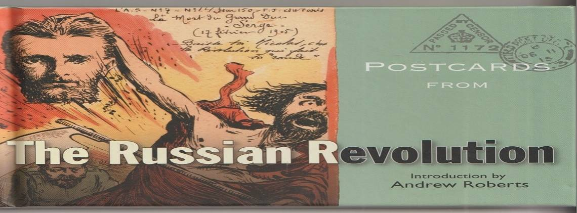"""Book review: """"Postcards from The Russian Revolution"""" by the Bodleian Library"""