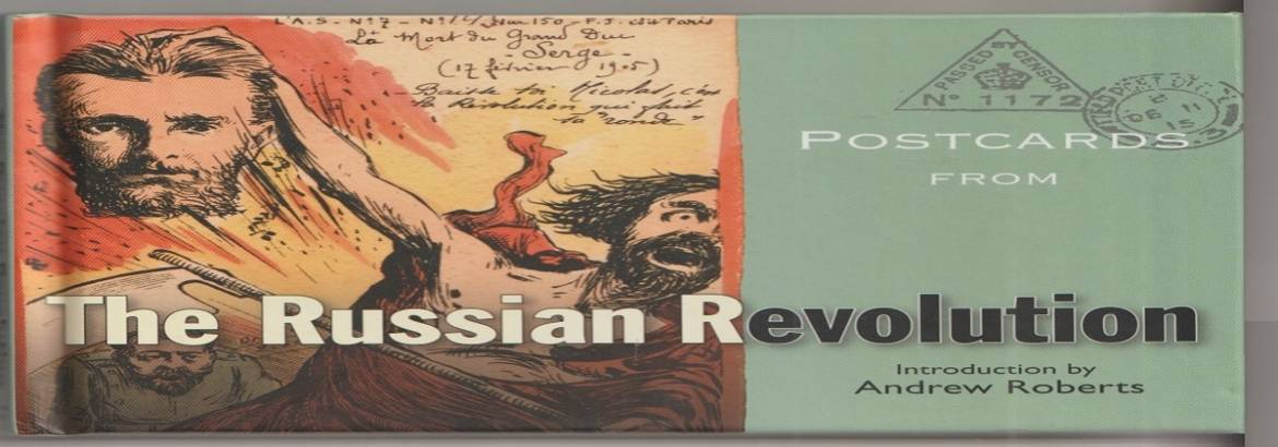 "Book review: ""Postcards from The Russian Revolution"" by the Bodleian Library"
