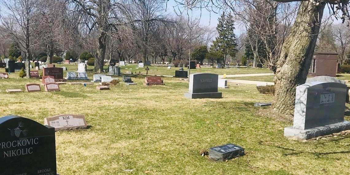 Essay: Rosehill Cemetery, 3.24.20