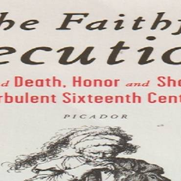 "Book review: ""The Faithful Executioner: Life and Death, Honor and Shame in the Turbulent Sixteenth Century"" by Joel F. Harrington"