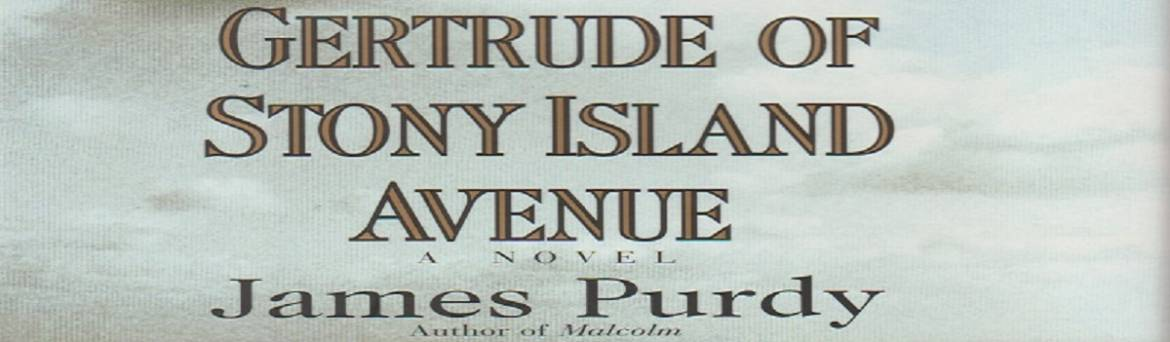 """Book review: """"Gertrude of Stony Island Avenue"""" by James Purdy"""