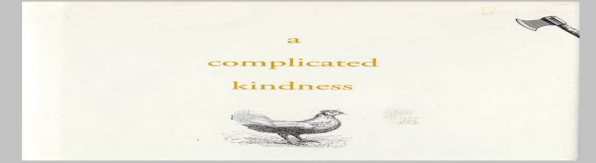 """Book review: """"A Complicated Kindness"""" by Miriam Toews"""