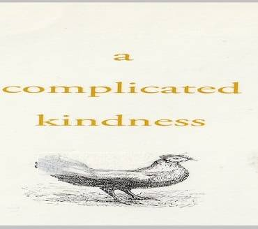"Book review: ""A Complicated Kindness"" by Miriam Toews"