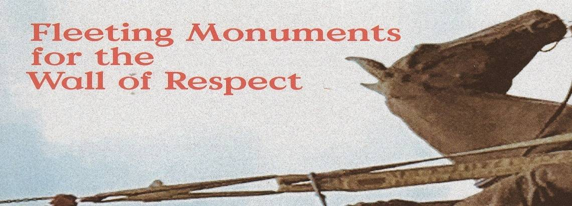 """Book review: """"Fleeting Monuments for the Wall of Respect,"""" edited by Romi Crawford"""