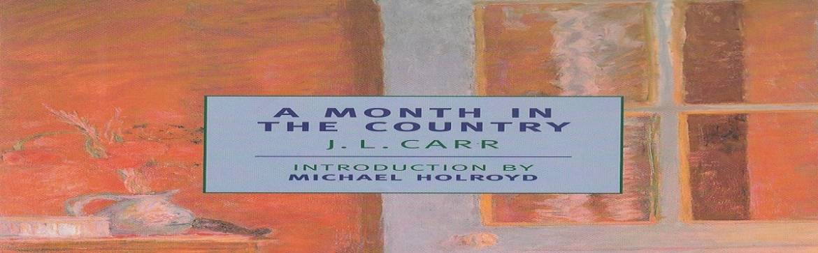 """Book review: """"A Month in the Country"""" by J. L. Carr"""